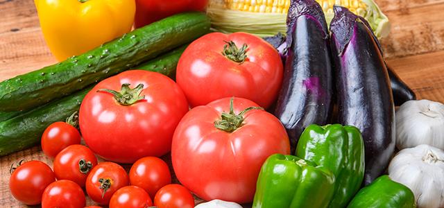 野菜350gの目安量