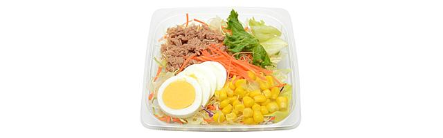 野菜摂取方法 コンビニサラダ