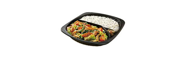 野菜摂取方法 お弁当チェーン店